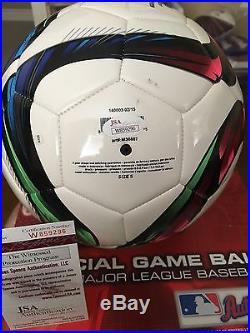 Carli Lloyd USA signed Adidas soccer ball JSA Witnessed COA autograph auto