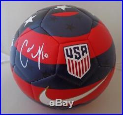 Carli Lloyd signed Size 5 Nike USA Prestige Soccer Ball Team USA Womens