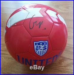 Carli Lloyd'world Cup Champs' 2015 Winner Hat Trick Signed USA Soccer Ball Coa