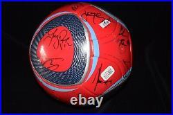 Chicago Fire Signed 2010 MLS Soccer Ball Team Signed 22 Signatures