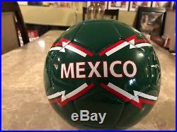 Chivas Del Guadalajara Ramón Morales Signed Mexico Soccer Ball Size 5