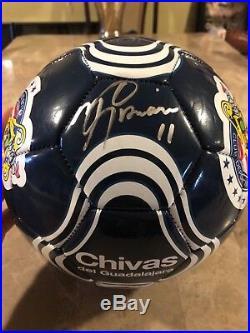 info for a5d4c c0c33 chivas | Signed Soccer Ball