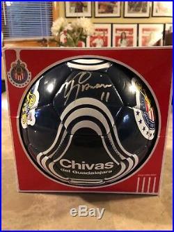 Chivas Del Guadalajara Ramón Morales Signed Official Chivas Soccer Ball
