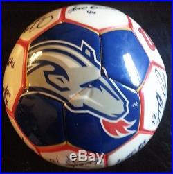 Chivas USA Soccer Team Ball Futbol Autographed Ramon Ramirez Paco Palencia