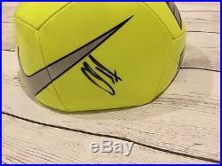 Christian Pulisic Clint Dempsey Signed NIKE Soccer Ball Beckett BAS COA a