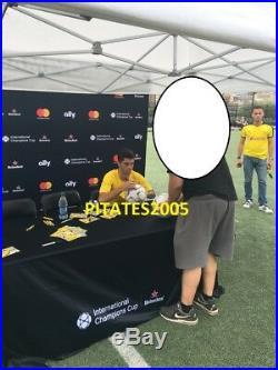 Christian Pulisic Signed Adidas Team USA Soccer Ball World Cup Proof Jsa Coa
