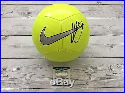 Christian Pulisic Signed NIKE Soccer Ball Beckett BAS COA USA Borussia Dortmund