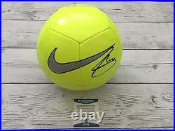 Christian Pulisic Signed NIKE Soccer Ball Beckett BAS USA Borussia Dortmund b