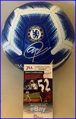 Christian Pulisic Team USA signed Chelsea F. C. Full Size Soccer Ball JSA