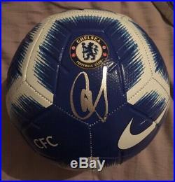 Christian Pulisic USA National Team 2019 Chelsea Signed Auto Soccer Ball Jsa Coa