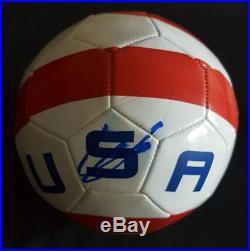 Christian Pulisic USA Signed Soccer Ball Coa 100% Real Auto Usmnt 1