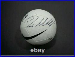 Christiano Ronaldo Autographed Juventas Nike Pitch Soccer Ball with COA