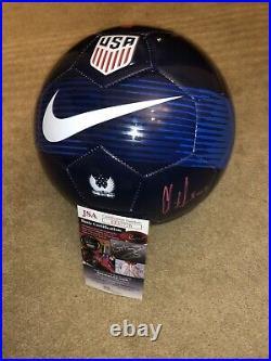 Clint Dempsey Signed USA Soccer Ball Auto Jsa Rare Usmnt Legend Sounders 4