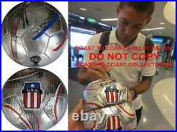 Clint Dempsey, Sounders, 2014 World Cup, Signed, Autographed, USA Soccer Ball, Proof