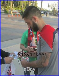 Clint Dempsey and Michael Bradley Signed 11x14 USA Soccer Photo with proof