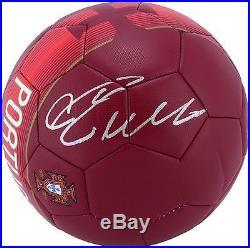 Crisitano Ronaldo Portugal Autographed Nike Soccer Ball