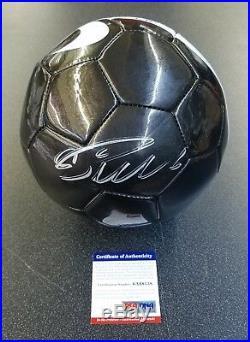 2227e846212 Cristiano Ronaldo Auto Autograph Signed Black Nike Cr7 Soccer Ball Psa   Dna