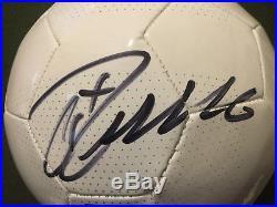 Cristiano Ronaldo Autograph Portugal Soccer Ball with COA Signed Auto Juventus