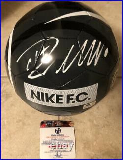 Cristiano Ronaldo Autographed Nike FC Soccer Ball, Size 5, with COA