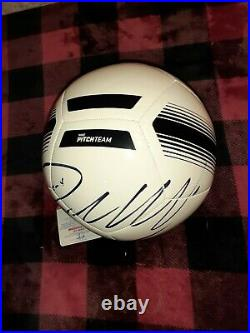 Cristiano Ronaldo Hand signed autographed NIKE soccer ball New never displayed