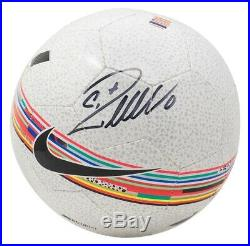 Cristiano Ronaldo Juventes Signed Nike Soccer Ball with Case N79239 BAS