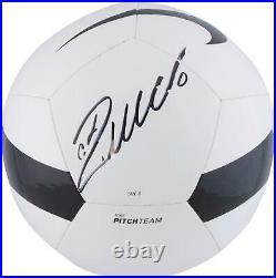 Cristiano Ronaldo Juventus F. C. Autographed Black & White Nike Pitch Soccer Ball