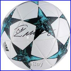 Cristiano Ronaldo Real Madrid CF Signed Adidas UEFA Champions League Soccer Ball