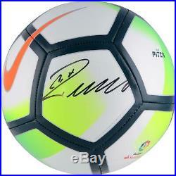 Cristiano Ronaldo Real Madrid C. F. Autographed Nike Pitch La Liga Soccer Ball