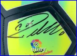 Cristiano Ronaldo Real Madrid Signed La Liga Nike On Pitch Ball Fanatics