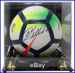 Cristiano Ronaldo Real Madrid Signed Nike Soccer Ball BAS K35305 with Acrylic Case