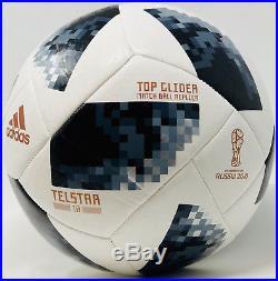 Cristiano Ronaldo Signed 2018 Fifa World Cup Adidas Soccer Ball Beckett Bas