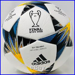 Cristiano Ronaldo Signed Adidas Champions League Kiev 18 Final Ball Beckett