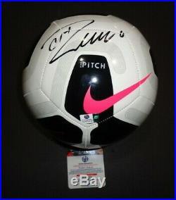 Cristiano Ronaldo Signed Adidas Real Madrid CF Logo Soccer Ball COA CR7 football