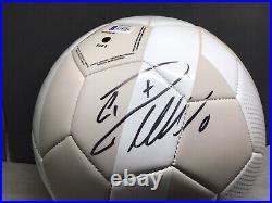 Cristiano Ronaldo Signed Adidas Real Madrid Soccer Ball Auto Beckett BAS COA 1B