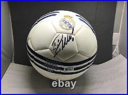 Cristiano Ronaldo Signed Adidas Real Madrid Soccer Ball Beckett Witnessed COA 1A