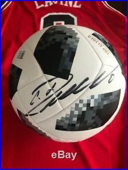 Cristiano Ronaldo Signed Auto Russia 2018 Top Glider Soccer Ball (Beckett COA)