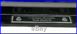 Cristiano Ronaldo Signed Autographed Cr7 Soccer Ball With Custom Case Psa/dna