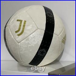 Cristiano Ronaldo Signed Autographed Juventus Soccer Ball CR7 Football White