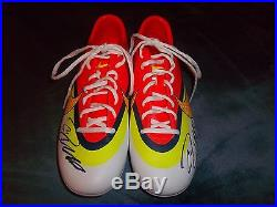 Cristiano Ronaldo Signed Autographed Nike Soccer Cleats Real Madrid COA PSA JSA