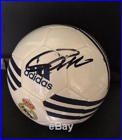 Cristiano Ronaldo Signed Autographed Soccer Ball COA