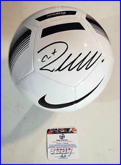 Cristiano Ronaldo Signed Autographed Soccer Ball with COA Juventus F. C