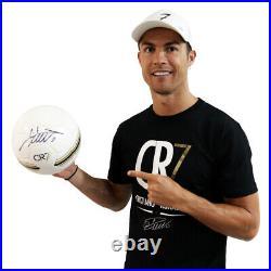 Cristiano Ronaldo Signed CR7 Museum Ball White