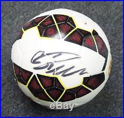 Cristiano Ronaldo Signed Full Size NIKE Soccer Ball AUTO Autograph PSA/DNA COA