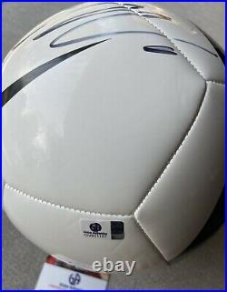 Cristiano Ronaldo Signed Nike Juventus Logo Soccer Ball COA CR7 football