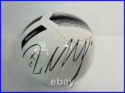 Cristiano Ronaldo Signed Nike Juventus Logo Soccer Ball COA football
