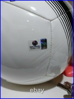 Cristiano Ronaldo Signed Nike Logo Soccer Ball COA CR7 football