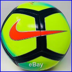 Cristiano Ronaldo Signed Nike Pitch Ball Beckett Bas Witness Real Madrid