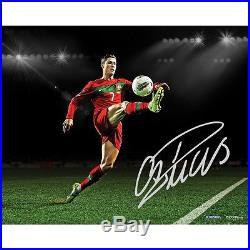 Cristiano Ronaldo Signed Portugal Ball Control 16x20 Photo Steiner COA