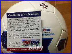 Cristiano Ronaldo Signed Portugal Futbol Soccer Ball PSA/DNA Coa Real Madrid