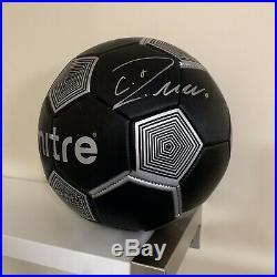 Cristiano Ronaldo Signed Soccer Ball Autographed